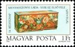 Sellos de Europa - Hungría -  54º día de sellos - cofres nupciales