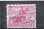 Stamps of the world : Australia :  EXPLORADOR