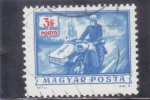 Stamps of the world : Hungary :  MOTO CON SIDECAR