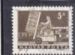 Stamps Hungary -  CARRETILLA ELEVADORA