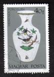 Stamps Hungary -  Porcelana de Herend
