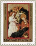 Sellos del Mundo : Europa : Hungría :  Annunciation from altar of Csíkmenaság
