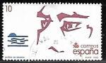 Stamps of the world : Spain :  V Centenario del Descubrimiento de América - Núñez de Balboa