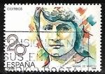 Stamps of the world : Spain :  Mujeres famosas españolas - Maria Maeztu