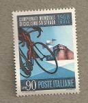 Stamps Italy -  Campeonato Mundial de Ciclismo en carretera
