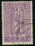 Stamps Greece -  Estatuilla de Hipócrates