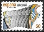 Sellos de Europa - España -  V Copa del Mundo de Atletismo - Iniciación de la carrera
