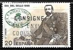 Sellos de Europa - España -  Dia del sello - Rafael Alvarez Sereix