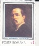 Stamps Romania -  AUTORETRATO N.GRIGORESCU