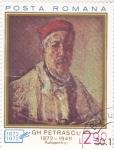 Stamps Romania -  AUTORETRATO PETRASCU