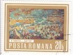 Stamps Romania -  PINTURA- PAISAJE