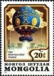 Sellos de Asia - Mongolia -  200 años de aviación
