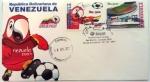 Stamps : America : Venezuela :  SOBRE DE PRIMER DIA COPA AMERICA 2007