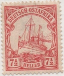 Stamps : Asia : Germany :  Africa Orient Y & T Nº 24