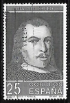 Sellos de Europa - España -  Dia del sello - Juan de Tassis y Peralta