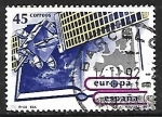 Sellos de Europa - España -  Europa - Europa espacial