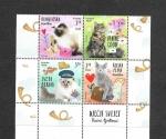 Stamps Croatia -  Mundo de los Niños - Gatos II
