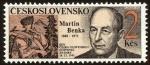 Sellos de Europa - Checoslovaquia -  Día del Sello, Martin Benka (1888-1971), grabador de sellos