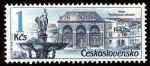 Sellos del Mundo : Europa : Checoslovaquia :  Fuentes de Praga - PRAGA '88