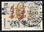 Stamps of the world : Spain :  Diseño infantil - Dibuo de la niña Esther Lucas Rodriguez