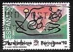 Sellos de Europa - España -  Juegos Paralimpicos - Barcelona 92