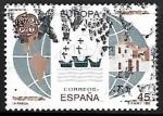 Sellos de Europa - España -  Europa - Mapa de América
