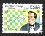 Stamps : Asia : Cambodia :  Campeones de ajedrez