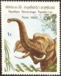 Stamps : Asia : Laos :  Elefantes