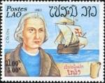 Stamps : Asia : Laos :  Exploradores y barcos
