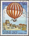 Stamps Laos -  200 años de aviación