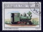 Stamps of the world : Chad :  Locomotora   0-6-0