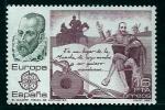 Stamps of the world : Spain :  Miguel de Cervantes