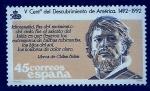 Sellos de Europa - España -  V.cent.descubrimiento de America