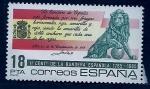 Stamps of the world : Spain :  II Cent.bandera española