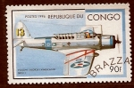 Stamps Republic of the Congo -  Avion