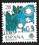 Stamps Spain -  Servicios Públicos - Medio ambiente