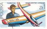 Sellos del Mundo : Europa : Polonia : AEROMODELISMO