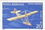Stamps Romania -  VUELO SIN MOTOR