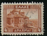 Stamps : Europe : Greece :  Monasterio