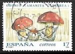 Sellos de Europa - España -  Micologia - Oronja