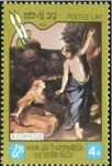 Stamps Laos -  450 aniversario de la muerte de Correggio
