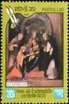 Stamps : Asia : Laos :  450 aniversario de la muerte de Correggio