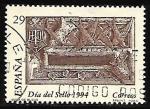 Sellos de Europa - España -  Dia del sello - Buzones