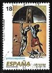 Sellos de Europa - España -  Pintura española - Obras de Salvador Dali