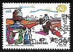 Sellos de Europa - España -  Literatura Española - Viaje a la Alcarria