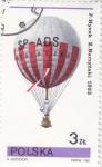 Stamps Poland -  GLOBO AEROSTATICO