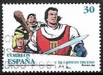 Stamps of the world : Spain :  Cómics - Personajes de ficcion