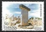 Sellos del Mundo : Europa : España :  Arqueología - Taula de Torralba (Menorca)