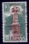 Stamps Spain -  Cruz de Ronsesvalles