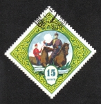Stamps : Asia : Mongolia :  Deportes Mongoles